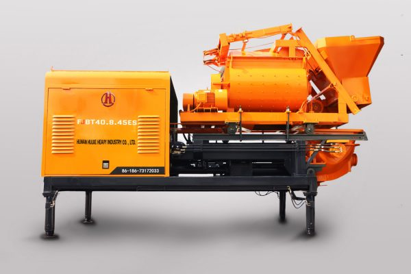 Forced concrete mixer pump FJBT40.8.45ES