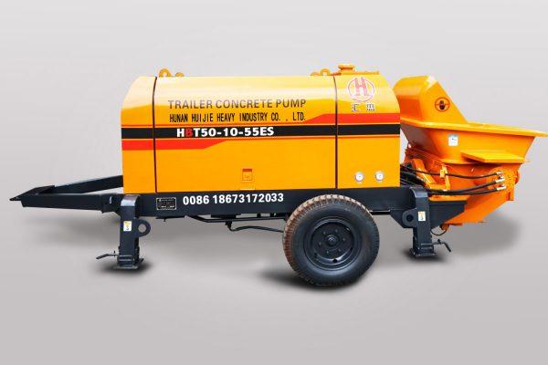 Electric concrete pump HBT50.10.55ES
