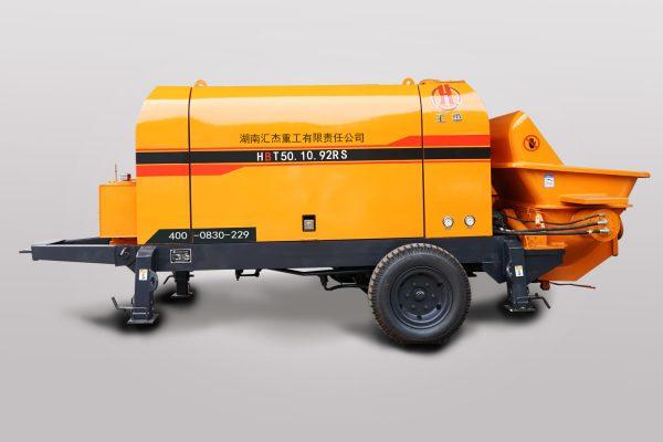 Diesel concrete pump HBT50.10.92RS