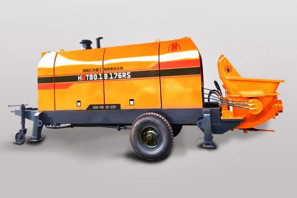 Diesel concrete pump HBT80.18.176RS