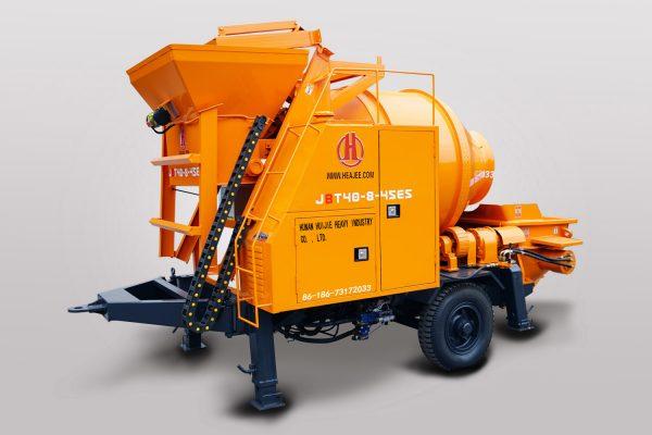 Electric Concrete Mixer Pump JBT40-8-45ES