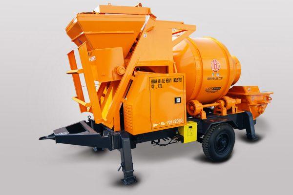 Diesel Concrete Mixer Pump JBT40-8-62RS