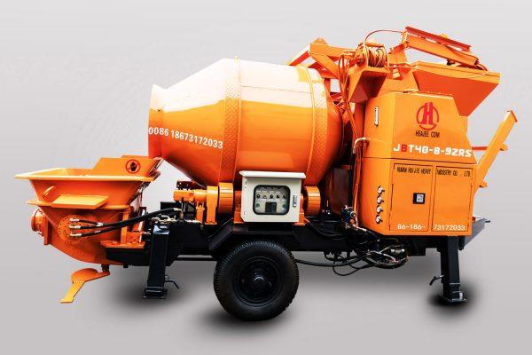 Diesel Concrete Mixer Pump JBT50-10-92RS