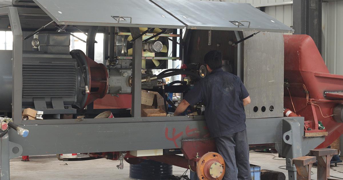 concrete pump manufacturing