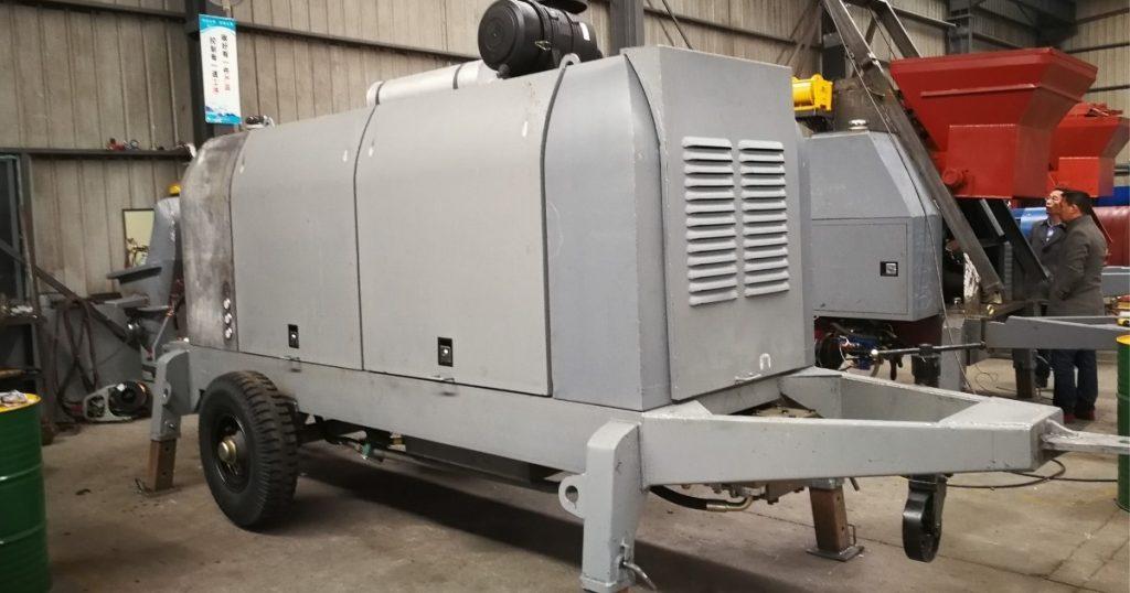 Diesel Concrete Pump HBT80-18-176RS
